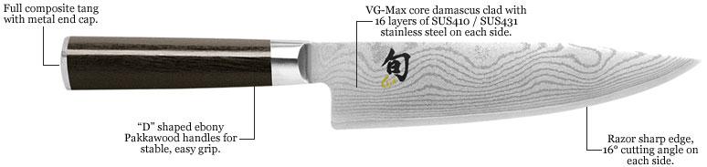 couteaux de cuisine shun